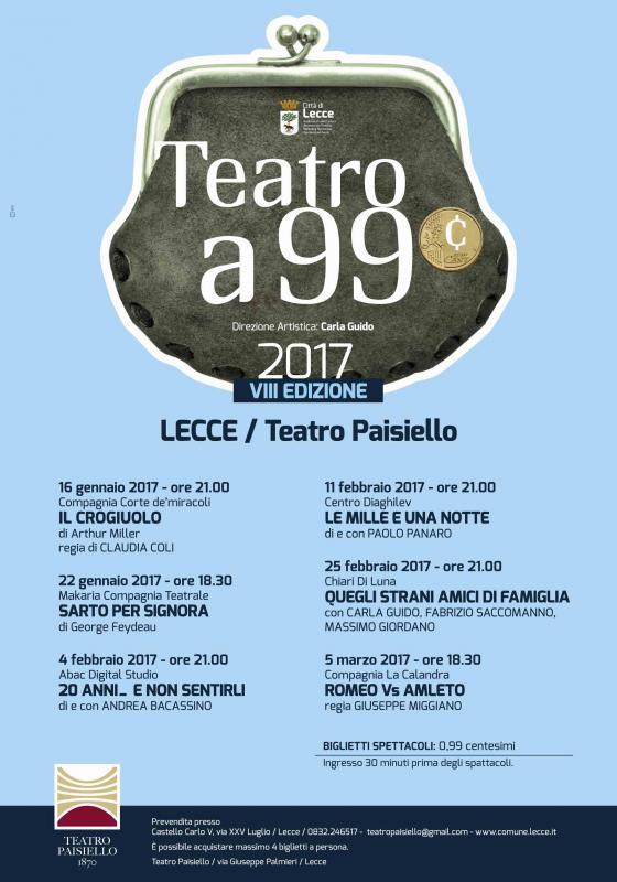 Teatro A 99 Centesimi
