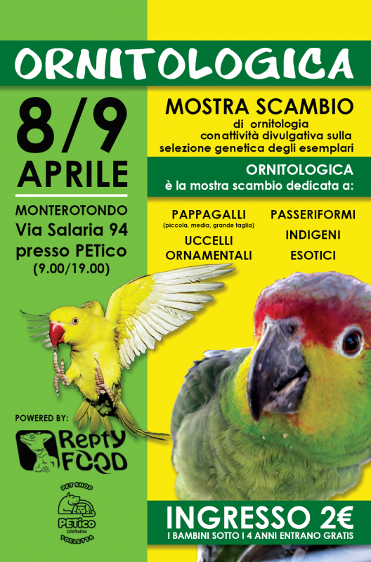 Ornitologica a monterotondo 2017 rm lazio eventi e for Attrezzatura agricola usata lazio