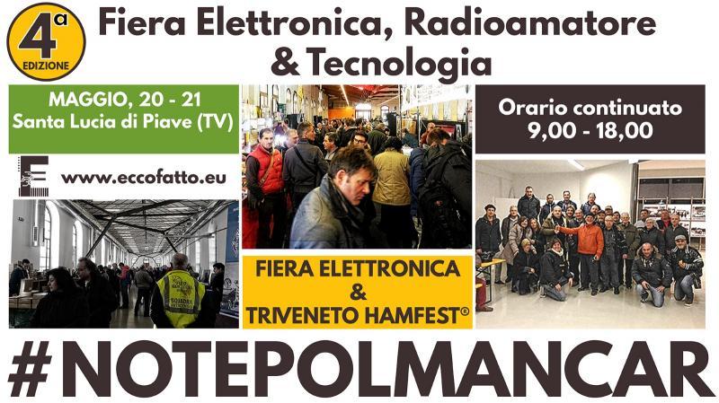 Fiera elettronica e triveneto hamfest santa lucia di piave for Fiera elettronica 2017