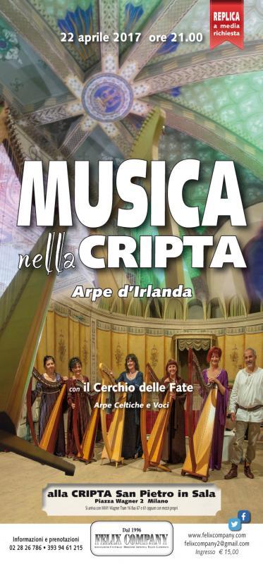 Musica nella cripta milano mi 2017 lombardia su eventi for Eventi milano aprile 2017