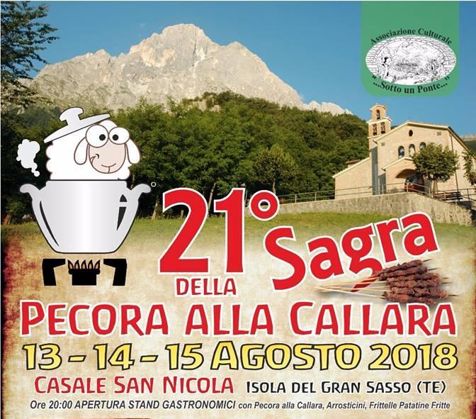 Sagra Della Pecora Alla Callara a Isola Del Gran Sasso D ...