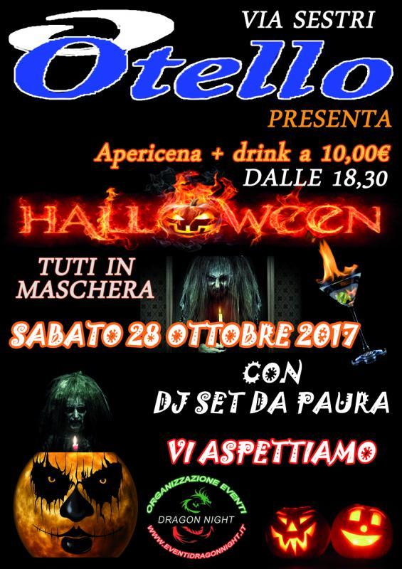 Halloween Horror Sestri Ponente Bar Otello a Genova  3687d7e42fe9