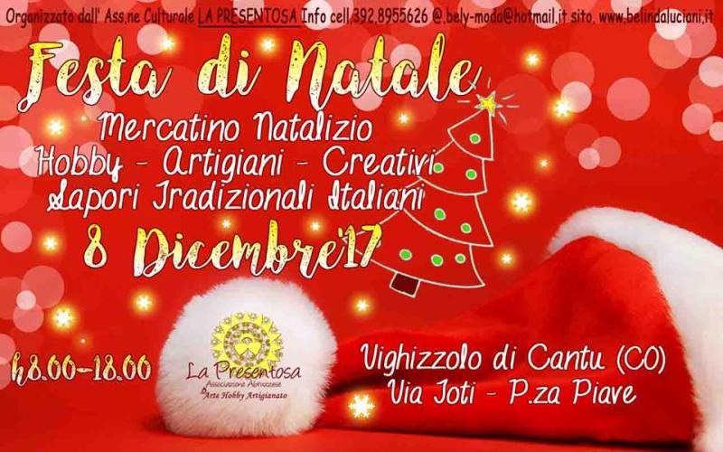 Immagini Feste Di Natale.Festa Di Natale A Vighizzolo A Cantu 2017 Co Lombardia