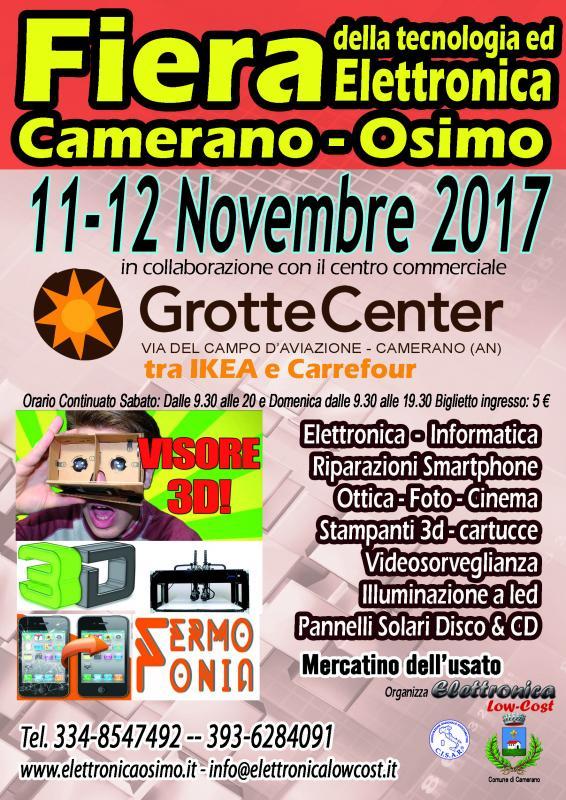Fiera dell 39 elettronica camerano osimo a camerano an 2017 for Fiera elettronica 2017