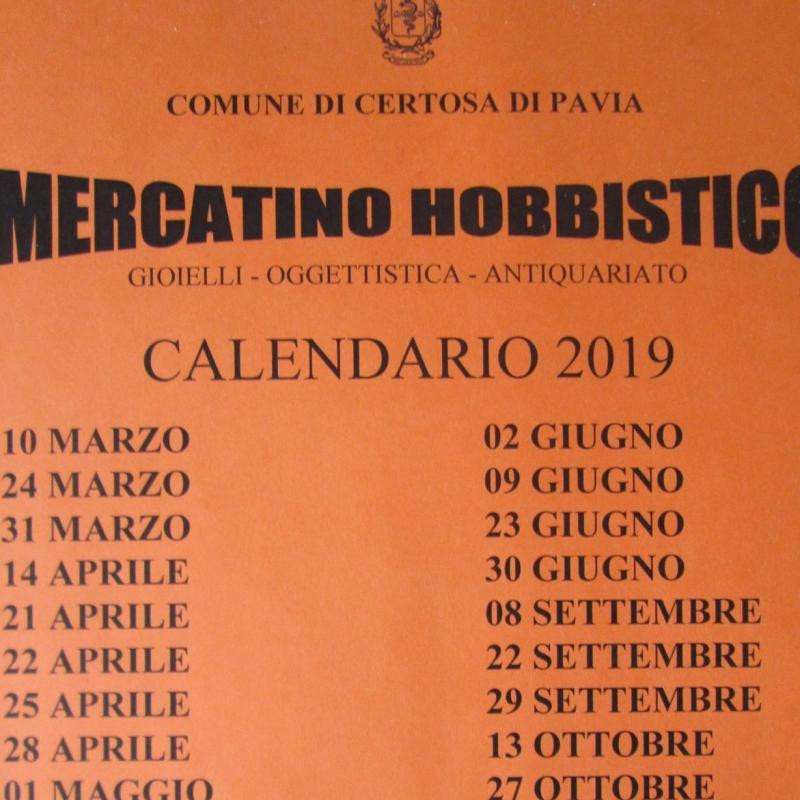 Pulci E Non Solo Calendario.Il Mercatino Hobbistico A Certosa Di Pavia A Certosa Di
