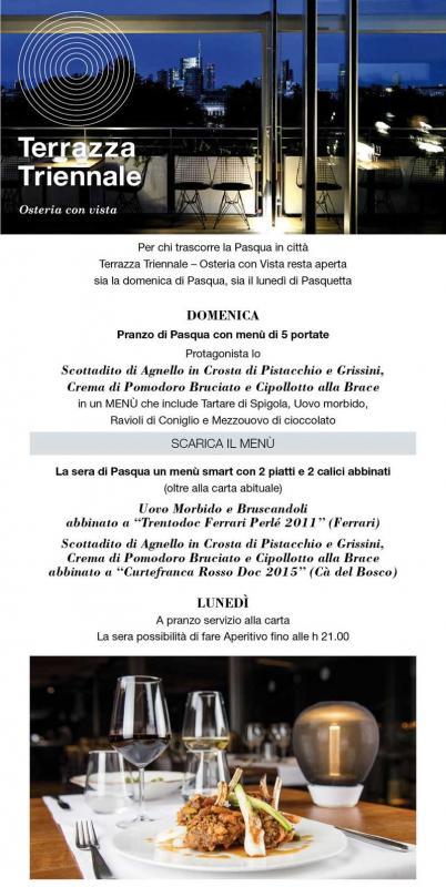 Pasqua E Pasquetta In Terrazza A Milano 2018 Mi