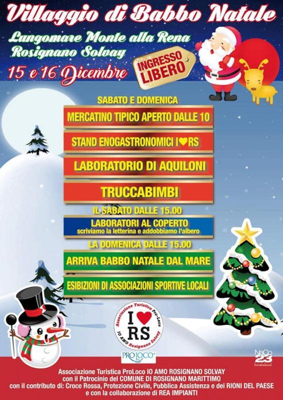 Villaggio Di Babbo Natale Italia.Il Villaggio Di Babbo Natale A Rosignano Solvay A Rosignano
