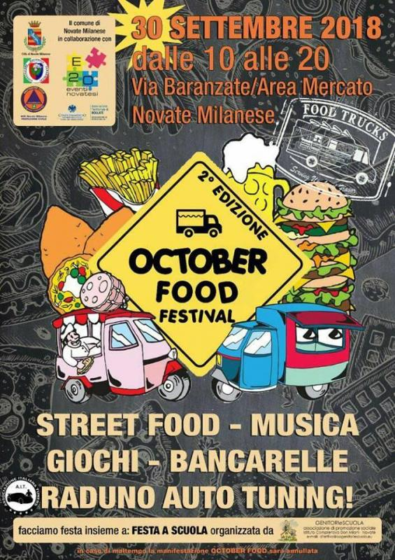 Scuola Di Musica Novate Milanese.October Food Festival A Novate Milanese A Novate Milanese 2018