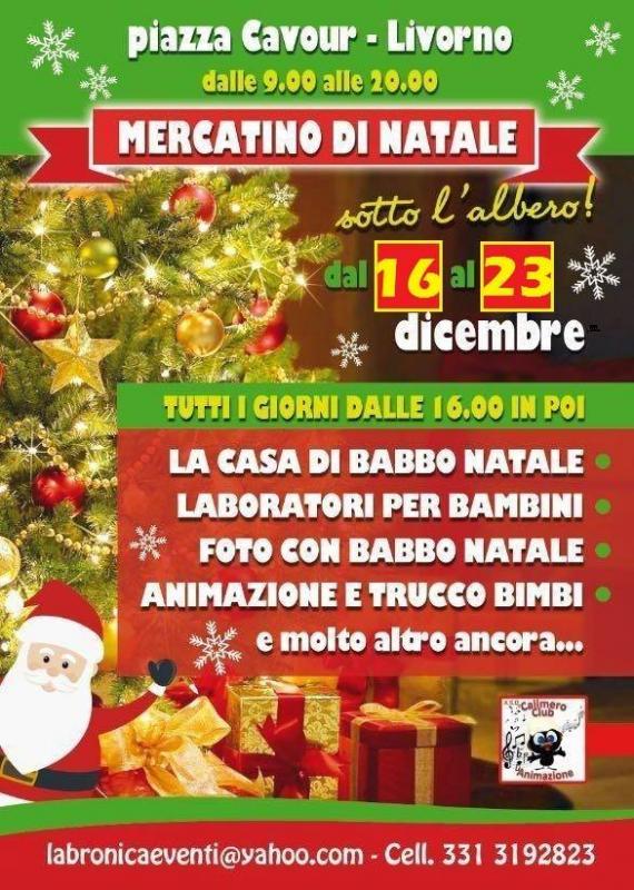 Albero Di Natale Yahoo.Il Mercatino Di Natale A Livorno A Livorno 2018 Li Toscana