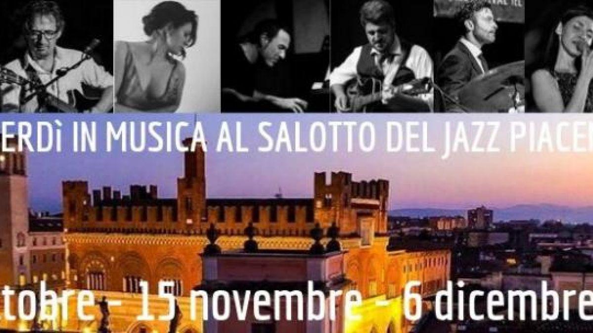 Musica In Salotto.I Venerdi In Musica Al Salotto Del Jazz Piacentino A