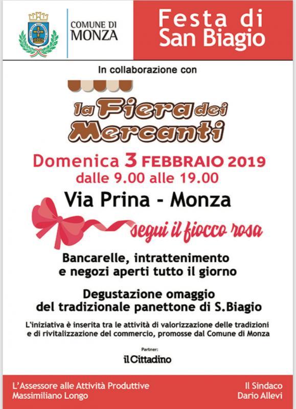 La Fiera Dei Mercanti a Monza | 2019 | (MB) Lombardia | eventi e sagre