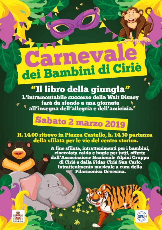 Il Carnevale Dei Bambini A Ciriè A Ciriè 2019 To