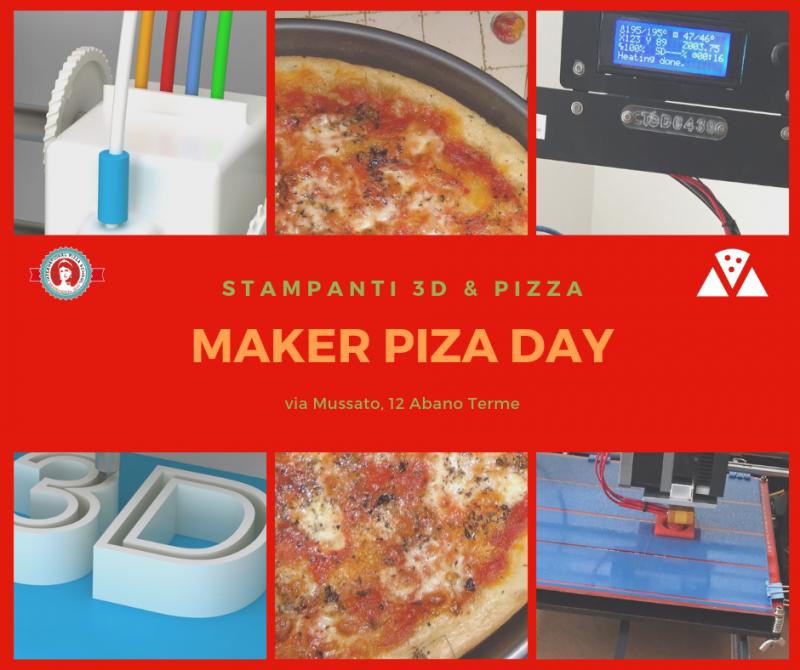 Calendario Manifestazioni Abano Terme.Maker Piza Day A Abano Terme A Abano Terme 2019 Pd
