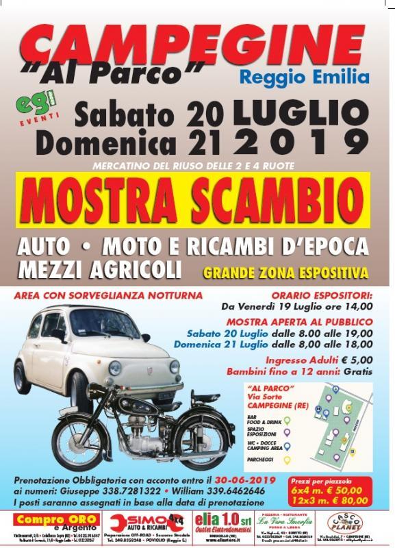 Calendario Mostre Scambio.Mostra Scambio A Campegine A Campegine 2019 Re Emilia