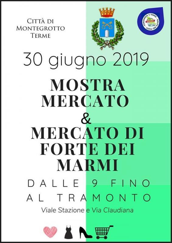 Il Mercatino Di Forte Dei Marmi Calendario 2020.Il Mercato Di Forte Dei Marmi A Montegrotto Terme A
