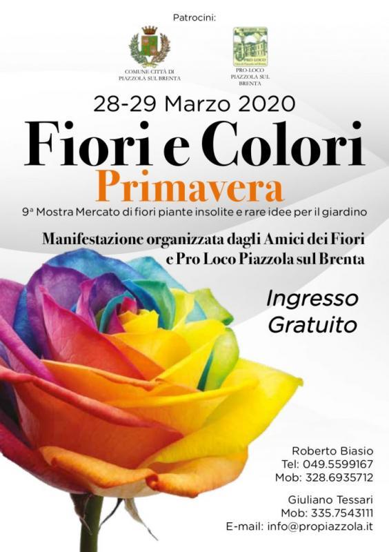 Mostra Mercato Fiori E Colori A Piazzola Sul Brenta