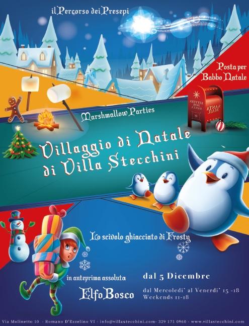 Villaggi Di Natale 2021.Il Villaggio Del Natale Di Villa Stecchini A Bassano Del Grappa 2021 Vi Veneto Eventi E Sagre