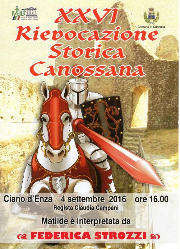 Rievocazione storica canossana canossa re 03 09 2016 04 09 2016 emilia romagna su eventi e - Ricci mobili ciano d enza ...