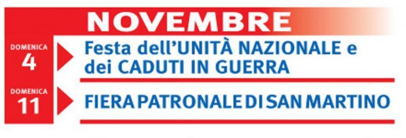 Giorno Di San Martino Calendario.Fiera Di San Martino A Premilcuore 2019 Fc Emilia