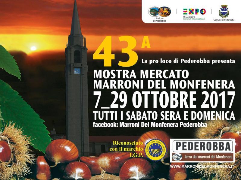 Risultati immagini per 43 mostra mercato marroni del monfenera