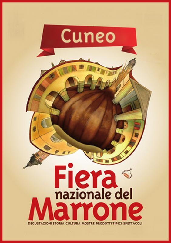 Fiera regionale del marrone cuneo cn 2018 piemonte for Fiere piemonte oggi