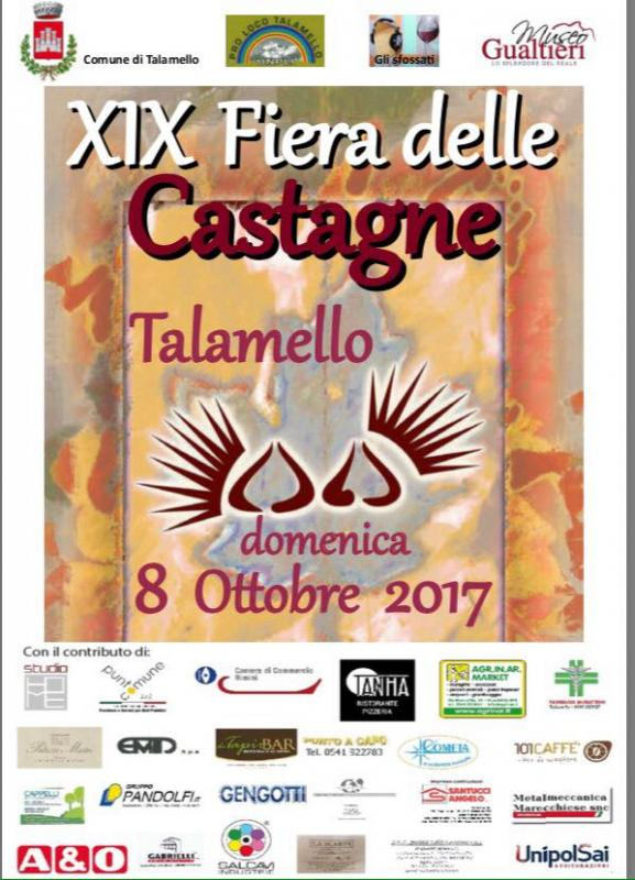 Fiera delle castagne talamello rn 2017 emilia romagna for Sagre emilia romagna 2017