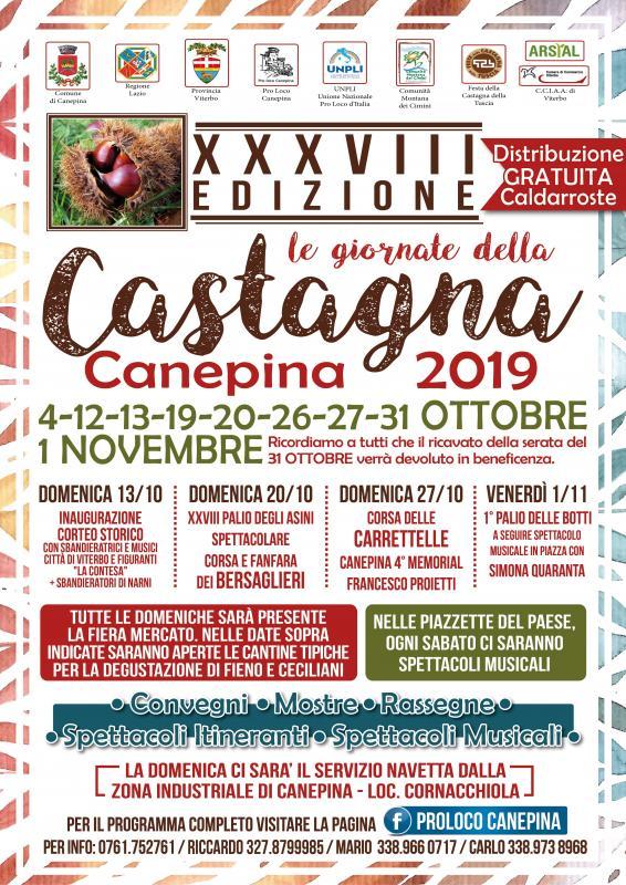 Giornate della Castagna a Canepina   2019   (VT) Lazio ...
