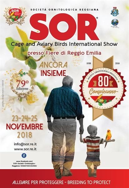 Calendario Fiere Ornitologiche.Esposizione Ornitologica Internazionale A Reggio Emilia