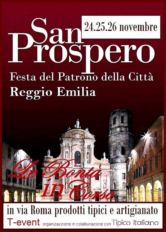 Festa di San Prospero a Reggio Emilia (RE) 2018 | Emilia Romagna ...
