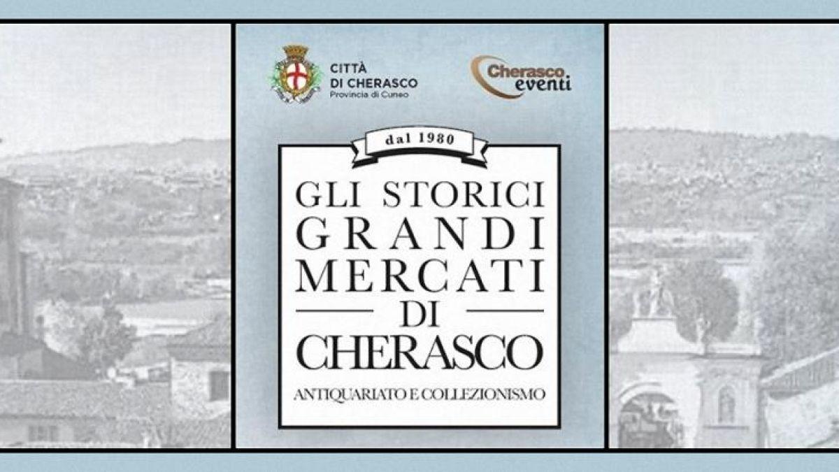 Calendario Mercatini Antiquariato.I Grandi Mercati Di Cherasco A Cherasco 2019 Cn