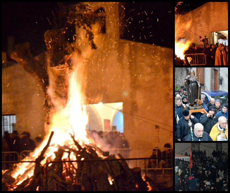 Festa Di Sant'Antonio Abate A Macomer
