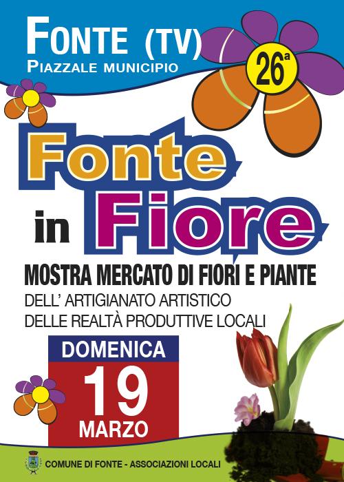 Fonte in fiore fonte tv 2017 veneto su eventi e sagre for Mostre mercato fiori 2017