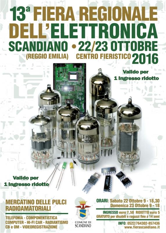 Fiere elettronica fiera regionale elettronica 22 10 2016 for Fiere alimentari 2016