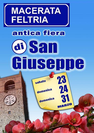 Antica fiera di san giuseppe macerata feltria pu 2017 for Eventi marche 2017