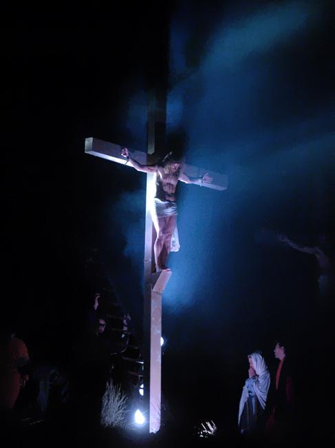 Rievocazione Storica Della Passione Di Cristo A Bagno A