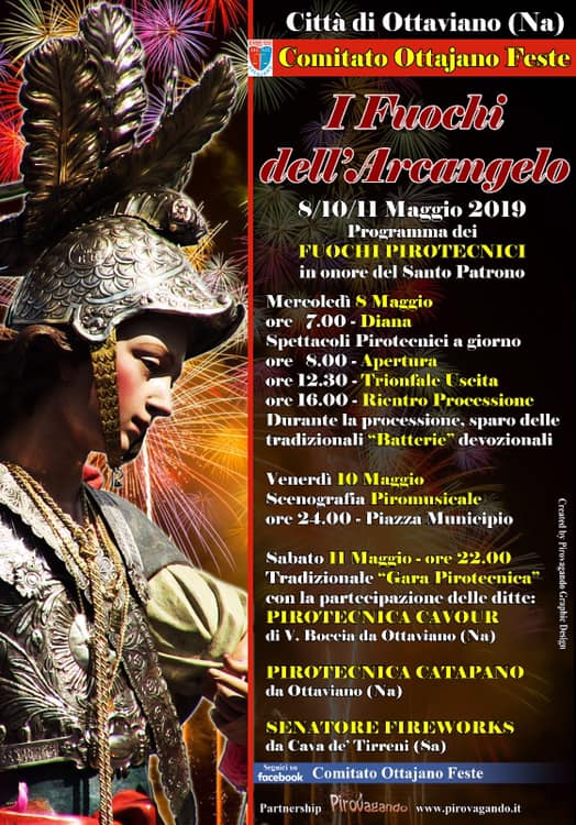San Michele Data Calendario.San Michele Arcangelo A Ottaviano 2019 Na Campania