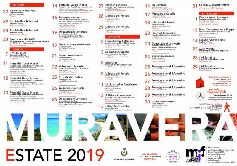 Calendario Eventi.Muravera Estate A Muravera 2019 Ca Sardegna Eventi E
