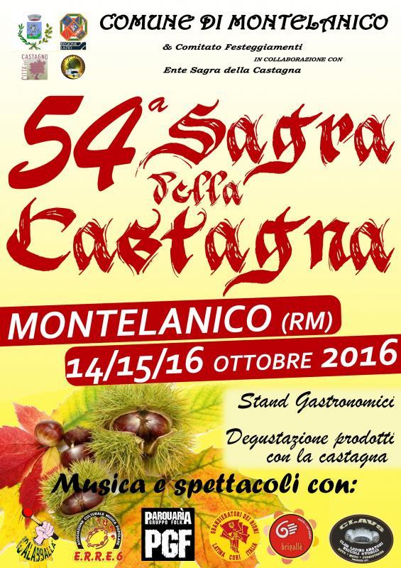 Ente Sagra Castagna Montelanico (rm) Montelanico (RM), Lazio