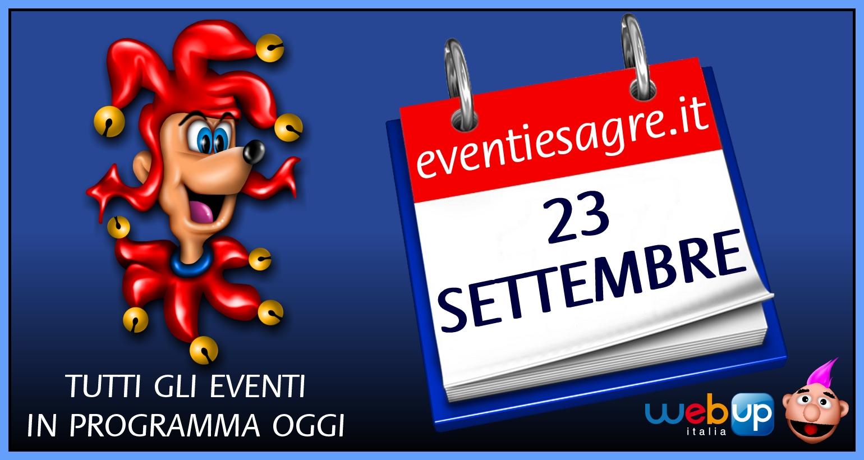 Eventi emilia romagna 2019 23 09 2017 23 09 2017 sagre for Sagre emilia romagna 2017