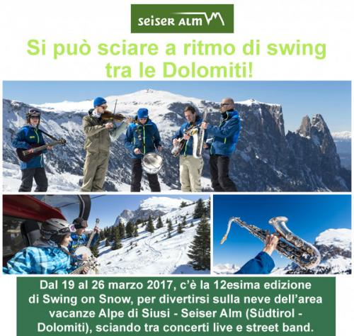 Swing On Snow - Castelrotto