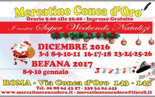Mercatino di natale roma rm 2017 lazio su eventi e sagre for Il mercatino roma