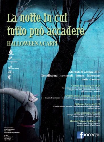 Carpi halloween carpi mo 2017 emilia romagna eventi for Sagre emilia romagna 2017