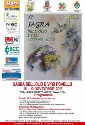 Sagra Olio E Vino Novello A Fonte Nuova - Fonte Nuova