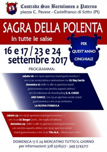 Sagra Della Polenta - Castelfranco Di Sotto