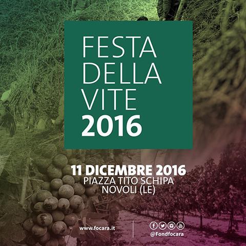 Festa Della Vite E Del Paesaggio - Novoli