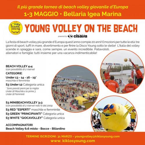 Young Volley On The Beach - Bellaria-igea Marina