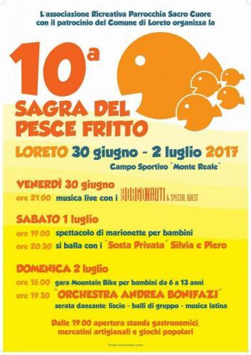 Sagra del pesce loreto an 2017 marche eventi e sagre for Eventi marche 2017