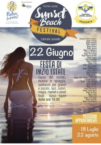 Sunset Beach Festival - Pietra Ligure