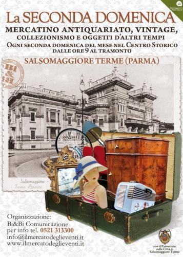 La seconda domenica salsomaggiore terme pr 2016 emilia - Mercatini antiquariato in romagna ...