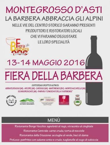 Fiera della barbera a montegrosso d 39 asti at 2016 for Fiere piemonte oggi